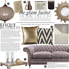 glamorous homes interiors the glam factor home decor polyvore