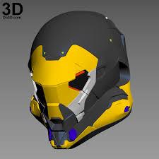 helmet design game 3d printable model anthem online game helmet ranger javelin print