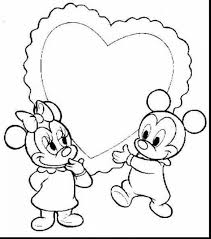 impressive mickey and minnie mouse coloring pages with mickey
