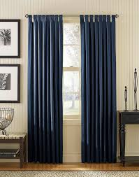 Navy Tab Top Curtains Navy Curtains Maybe Navy And Yellow As Accent Colors In The