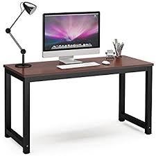 Black Home Office Desks Tribesigns Computer Desk 55 Large Office Desk