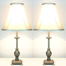vintage bedroom table lamps with old and shabby chic bedside black