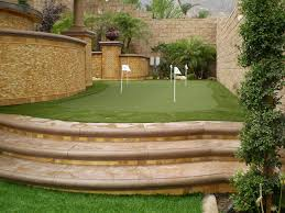 Backyard Golf Green by How To Improve Your Golf Game With A Backyard Golf Green