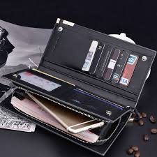 aliexpress buy 2016 new european men 39 s jewelry baellerry business men s wallets solid pu leather wallet