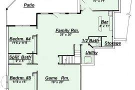 Rambler Open Floor Plans Rambler House Plans With Two Master Suites Home Act