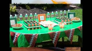 football party decorations football themed party decorating ideas
