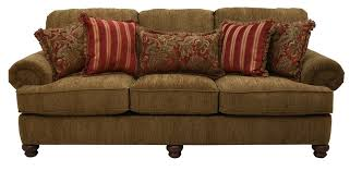 belmont sofa in chenille fabric by jackson furniture 4347 03