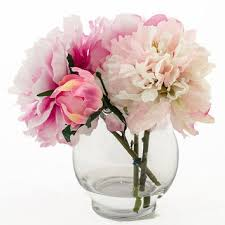 Faux Peonies Best Peony Centerpieces Products On Wanelo