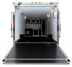 race car enclosed trailers