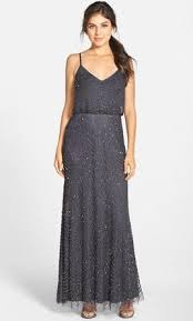 adrianna papell adrianna papell embellished blouson gown size 2
