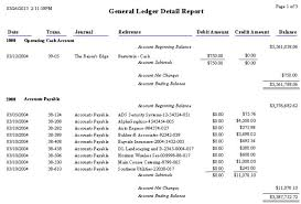 what are general report templates 15 general ledger templates