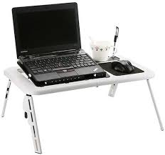 Folding Laptop Desk Adjustable Folding Laptop Table Laptop Stand Laptop Desk With 2
