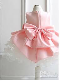 bow dresses baby party dress pageant dress summer tutu