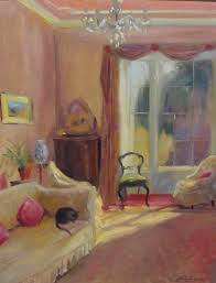elizabeth parsons british 1953 u0027irish country interior u0027 oil