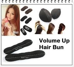 hair bump qoo10 new bump it up hair volume up cushion base velcro 女人我