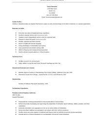 Pharmacist Skills Resume Fancy Idea Sample Pharmacist Resume 8 Examples Medical Resume