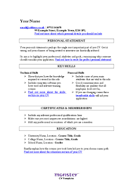 Show Me Resume Samples Examples Of Skill Sets For Resume Resume For Your Job Application