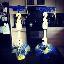 graduation centerpieces made by linda and ashley u2026 pinteres u2026