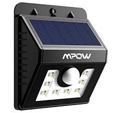 mpow solar light instructions mpow solar lights motion sensor security lights 3 in 1 waterproof
