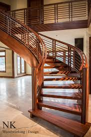 stair case curved staircase stair gallery u2014 nk woodworking u0026 design