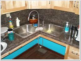 Creative Corner Kitchen Sink Design Ideas - Corner undermount kitchen sink