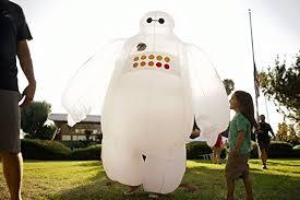 Inflatable Costume Halloween Amazon Kooy Baymax Inflatable Costume Cosplay Halloween Clothing