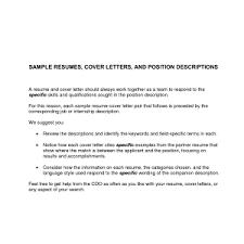 cover letter sample covering letter for resume covering letter