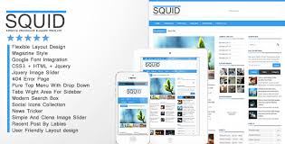 squid clean responsive blogger template by cbtblogger themeforest