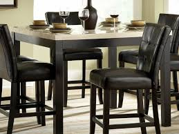discount dining room table sets wonderful model of praiseworthy white leather dining room