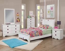 White Bedroom Records Amazon Com Sandberg Furniture Sparkling Hearts Bedroom Set Twin
