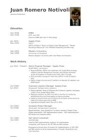 senior program manager resume samples visualcv resume samples
