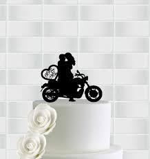 bicycle cake topper wedding motorcycle cake topper mr mrs bicycle cake topper bike