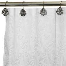 White Shower Curtains Fabric 12 Best Shower Curtains Images On Pinterest Curtain Fabric Long