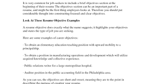 Resume Objective Examples Sales by 80 Objective For Resume Retail From Administrative To Sales