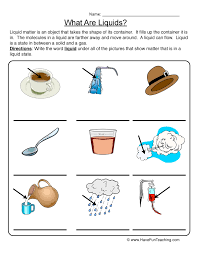 properties solids worksheet what are solids