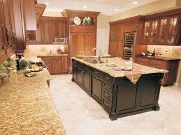 kitchen island cream marble counter tops white backsplash