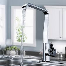 modern kitchen faucets modern solid brass kitchen faucet chrome finish faucetsuperdeal