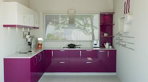 purple and white kitchen design modular kitchen design indian