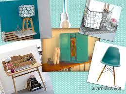 bureau turquoise un nouveau coin bureau turquoise zinc et bois brut la