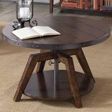 Weathered Wood Coffee Table Distressed Finish Coffee Tables You U0027ll Love Wayfair