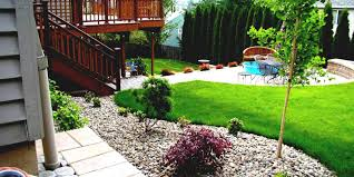 Landscape Backyard Design Ideas Fascinate Back Yard Landscaping Ideas On A Budget Tags Backyard
