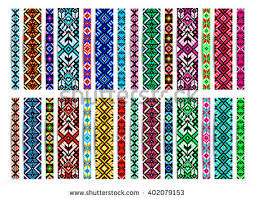 bracelet beads pattern images Trendy contemporary ethnic seamless pattern embroidery stock jpg