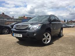 lexus rx400h isofix used lexus rx 400h suv 3 3 executive limited edition cvt 5dr in