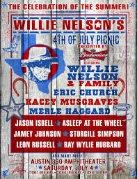 Willie Nelson Backyard Willie Nelson U0027s 4th Of July Picnic Presented By Budweiser Returns