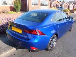 lexus parts in uk my is200t f sport in azure blue lexus is 300h is 250 is 200t