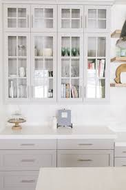 light gray painted kitchen cabinets and loishome crush painted kitchen cabinets