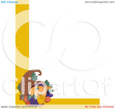 thanksgiving cornucopia clipart royalty free rf clipart illustration of a white background with