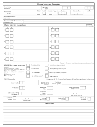 editable interview form template fill out best business forms