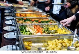 cuisine concept cuisine culinary buffet dinner catering dining ภาพสต อก 551835340