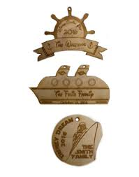 wooden ornaments cruise ship disney cruise gifts